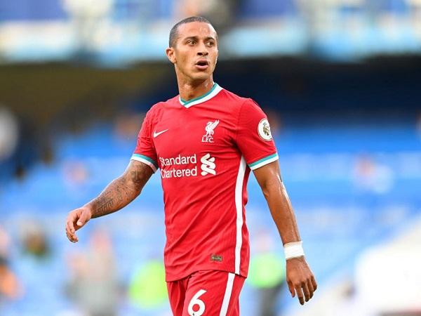 Tin Liverpool 30/9: Tân binh Thiago dương tính với Covid-19