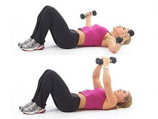 Bài tập ngực giúp cải thiện vòng 1 cho chị em mới tập Gym