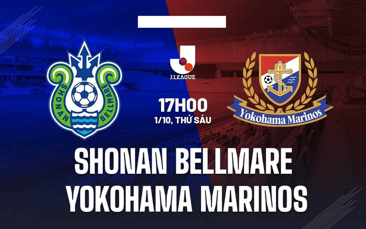Soi kèo Châu Á Shonan Bellmare vs Yokohama Marinos ngày 1/10